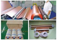 نوعية جيدة إد النحاس احباط & 6 Mic LB Double Shiny ED Copper Foil , RoHS / SGS Approval Pure Copper Foil للبيع